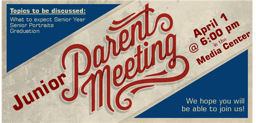 Jr. Parent Meeting