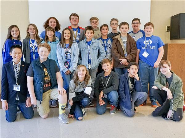 Armuchee Middle Leads Annual Floyd County Schools Middle School Math Competition