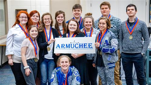 Armuchee High School Wins Floyd County Schools Academic Decathlon